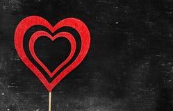 tappning för valentin för dagvykort s Älska begreppet för dag för moder` s och dag för valentin` s Lyckliga hjärtor för dag för v Arkivbilder