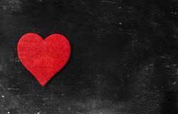 tappning för valentin för dagvykort s Älska begreppet för dag för moder` s och dag för valentin` s Lyckliga hjärtor för dag för v Fotografering för Bildbyråer