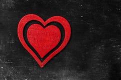 tappning för valentin för dagvykort s Älska begreppet för dag för moder` s och dag för valentin` s Lyckliga hjärtor för dag för v Royaltyfri Fotografi