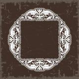 tappning för vektor för inre stil för ramillustration symmetrisk Royaltyfria Foton