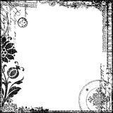 tappning för victorian för text för bakgrundscollagepapper Royaltyfria Foton