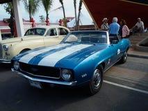 tappning för bilshow Royaltyfria Bilder