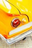 tappning f?r sepia f?r bilbil retro arkivbild