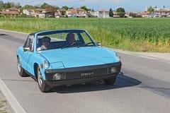 Tappning Fiat X1/9 Royaltyfria Foton