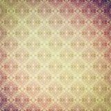 Tappning figurerade retro vägg-papper, sand-rosa färg Royaltyfri Bild