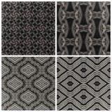Tappning figurerat 3D vägg-papper, grå färger Arkivfoton