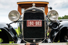 Tappning Ford Automobile Royaltyfri Fotografi