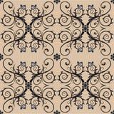tappning för produkt för blommaemballagemodell Royaltyfria Bilder
