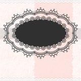 Tappning inramar på texturerad bakgrund Royaltyfri Fotografi