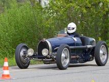 Tappning kriger pre racebilen Bugatti T Royaltyfria Bilder