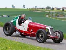 Tappning kriger pre racebilen Maserati Royaltyfria Foton