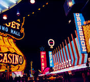 Tappning Las Vegas Royaltyfri Fotografi