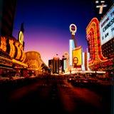 Tappning Las Vegas Fotografering för Bildbyråer