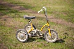 Tappning lurar trehjulingen Royaltyfri Foto