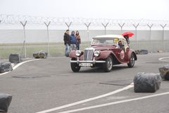 Tappning MG Royaltyfria Foton