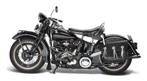 Tappning Motorbike Royaltyfria Bilder
