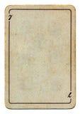 Tappning och grunge som spelar pappers- tom bakgrund för kort Arkivbild