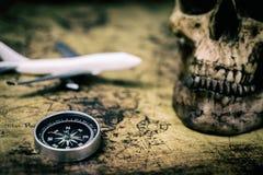 Tappning piratkopierar affärsföretagutforskarelopp Royaltyfri Foto