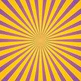 Tappning rays bakgrund Royaltyfria Bilder