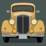 Tappning retro bil Arkivbild