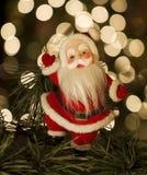 Tappning Santa Arkivbilder