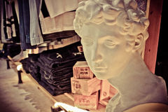 Tappning shoppar skärm Arkivfoton