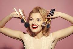 Tappning skincare, blick Fotografering för Bildbyråer