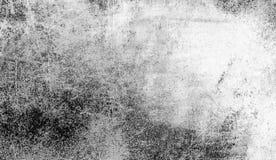Tappning skrapade grungesamkopieringar på isolerad vit bakgrund för copyspace arkivbilder
