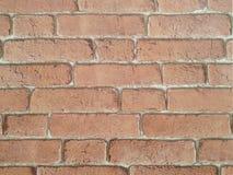 Tappning som ser textur för vägg för röd tegelsten som är användbar som en bakgrund B fotografering för bildbyråer