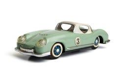 Tappning stämplad metall Toy Automobile Arkivbilder