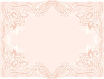 Blom- inrama Arkivfoton