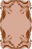 Blom- inrama royaltyfri fotografi