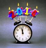 Lycklig 2014! Fotografering för Bildbyråer