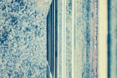 Tappning tonad abstrakt suddig avriven bakgrund Arkivfoto