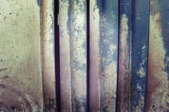 Tappning tonad suddig abstrakt rostig metallbakgrund Royaltyfri Foto