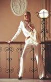 Tappning utformar flickan Royaltyfri Fotografi