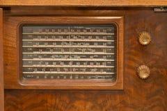 Tappning30-talradio Arkivbilder