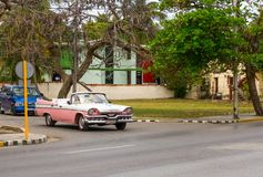 Tappningamerikanare i Varadero, Kuba Royaltyfri Fotografi