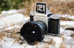 Tappninganalogkamera Arkivfoto
