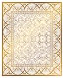 Tappningart décoprydnad royaltyfri illustrationer