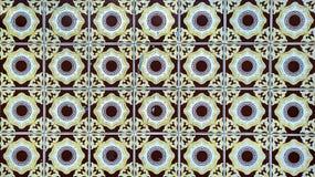 Tappningazulejos, traditionella portugistegelplattor Arkivfoton