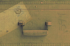 Tappningbagagebakgrund Royaltyfri Fotografi