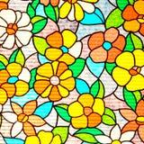 Tappningbakgrund från mullbärsträdpapper stock illustrationer