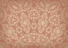 Tappningbakgrund i etnisk stil Royaltyfria Bilder