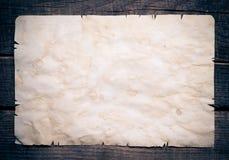 Tappningbakgrund med gammalt papper Arkivbilder