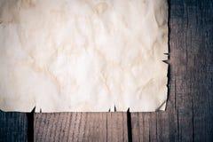 Tappningbakgrund med gammalt papper Royaltyfri Fotografi