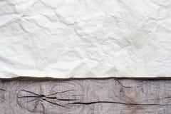 Tappningbakgrund med gammalt papper Royaltyfri Bild