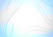 Tappningbakgrund med genomskinliga vågor stock illustrationer