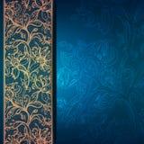 Tappningbakgrund med snör åt prydnaden. royaltyfri illustrationer
