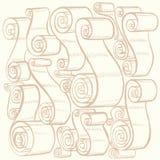 Tappningband och snirklar Grafiska illustrationer Royaltyfria Foton